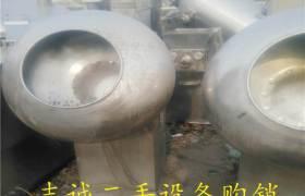 供应二手制药设备二手糖衣机全不锈钢糖衣锅35冲压片机泡罩包装机