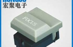宏聚PB86系列舞臺設備控制臺輕觸按鈕開關512控制臺專用印字開關