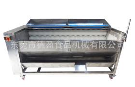 廠家直銷清洗去皮機大姜清洗去皮機蓮藕清洗去皮機徳盈食品機械