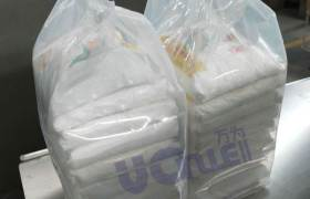 全自動異形包裝機萬為機械廠家生產數袋包裝機定制10袋一包包裝機