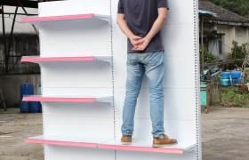 批发超市货架展示架便利店商超商场商店百货单面药店药品定制厂家