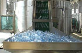 16头全自动果汁饮料生产线理瓶机LP-16理瓶机