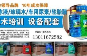 央视上榜品牌潍坊金美途玻璃水防冻液生产设备