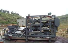 带式压渣机