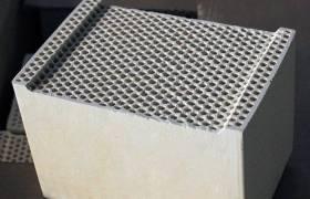 高温白色蜂窝陶瓷蓄热体抗压强度强