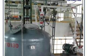 多台大功率大型胶体磨研磨泵使用在消泡剂工程