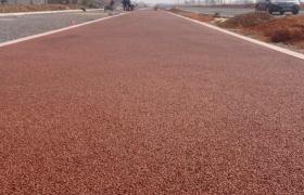彩色压模路面 透水混凝土增强剂 胶结料 粘结剂生产厂家
