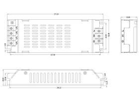 200W48V4AIU機箱電源