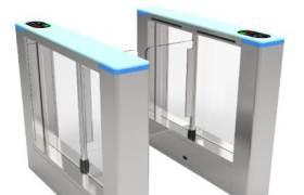 擺閘KLS-TD203智能工地三輥閘機人行通道三棍閘小區門禁系統道閘