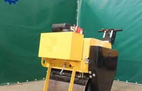 雙鋼液壓傳動平地機30C手扶式壓路機