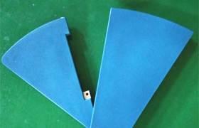 爆款藍色自結皮PU發泡軟皮門軟體翼門