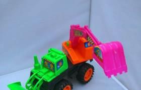 厂家直销518大号挖掘机推土机工程车加推带挖工程车