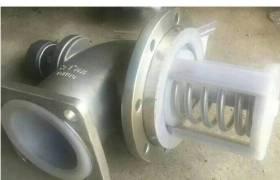 化工车油罐车耐腐蚀强酸强碱衬氟紧急切断阀不锈钢气动海底阀