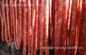 香肠烘干机 齐奥干燥 香肠烘干设备 齐奥干燥 热风循环烘箱