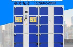 快递柜智能柜条码指纹密码电子12门存包柜