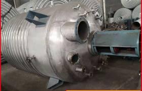 厂家直销电加热不锈钢反应釜不锈钢外盘管反应釜碳钢外盘管反应釜