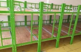 西安幼兒園兒童雙層床 小學生午休鋼制架子床上下鋪