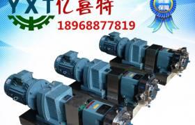 廠家直銷衛生級凸輪不銹鋼轉子泵三葉泵膠體泵鞋底泵