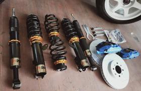 汽车避震改装_短弹簧_降低车身重心_改善控制