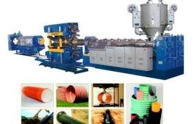 PE/HDPE/PVC 雙壁波紋管生產線