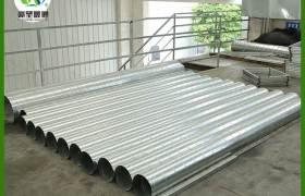 螺旋風管鍍鋅螺旋通風管道