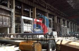 華亨hugyl-rql-9燃氣式臺車燃燒爐群