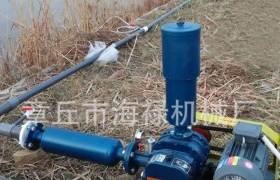 供应水产养殖罗茨增氧机曝气风机双油箱水冷式罗茨鼓风机噪音低