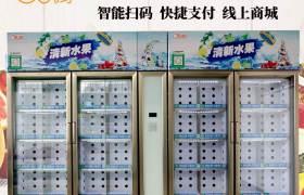 全自动售货机厂家定做制冷零食饮料机贩卖机