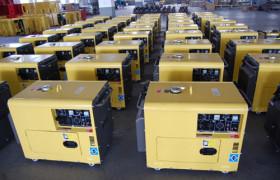 5KVA移动式柴油发电机