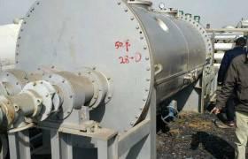 现货供应二手空心桨叶干燥机节能环保干燥机