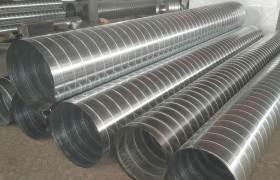 不銹鋼螺旋風管廠家直銷