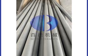 碳化硅辊棒_反应烧结碳化硅管_高温碳化硅反应圆管