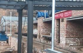 烘燒分體隧道窯4.2米斷面廊坊源彬窯爐工程