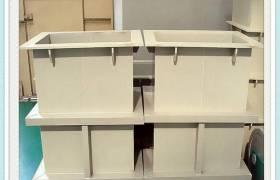 电镀槽加工PP塑料PP板配件槽子电解槽离子膜电解槽定制塑料酸洗槽