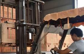 供應磚廠全自動打包機水泥磚隧道窯全自動磚塊專用打捆機簡單快速