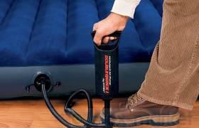 正品美国INTEX手动充气泵68612打气筒充气床玩具等专用