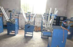 供应24锭高速全自动绕线机绳带编织机