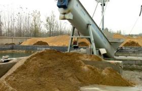 混凝土沙石分離機
