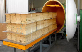 專業定制木材真空干燥機 烘干設備 紅木烘干機