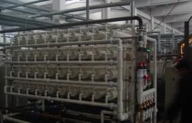 河水深度处理膜系统