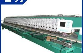 长期供应全新电脑绣花机全自动毛巾刺绣机械高速多功能绣花机