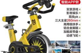 动感单车超静音健身车家用脚踏车室内运动自行车减肥健身器材厂家