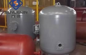 厂家定做碳钢衬塑储运化工设备不锈钢卧式发酵罐