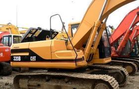卡特挖掘機320B出售16萬