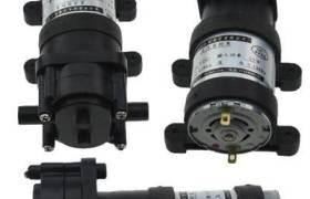鼎好電子水泵12V550齒輪泵微型直流水泵自吸泵抽柴油機油醇基燃料