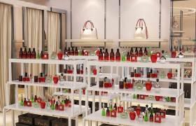 服装店创意货架展示架定制商场鞋子包包中岛架母婴用品展示柜批发