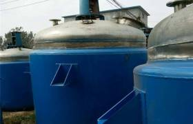 现货出售二手反应设备不锈钢反应釜3吨4吨5吨8吨10吨不锈钢反应釜