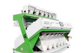 智能彩色CCD大米色選機大型多功能六通道分選機器設備