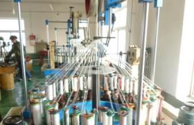 厂家直销40锭高速绳带编织机