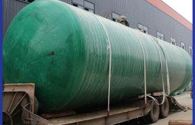 污水处理化粪池_污水处理设备_玻璃钢模压化粪池